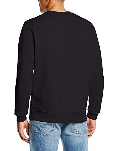 Lacoste Men's Nero Black Sweatshirt Nero Sweatshirt Men's Lacoste Black Lacoste 5Sn4Fxtqwv