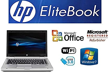 Sleek Enhanced Laptop PC - EliteBook 8470P - 14-Inch LED – Quad-Core i7 Processor (Turbo Boost 3.3GHz) - Upgraded to 8GB DDR3 RAM - New 1TB Solid State ...
