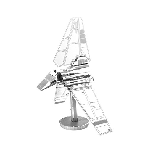 Metal Earth - 5061259 - Maquette 3D - Star Wars - Imperial Shuttle - 10,8 x 6,35 x 10,16 cm - 2 pièces