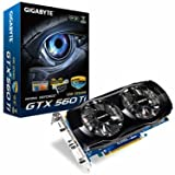 Gigabyte GeForce GTX 560 Ti 1 GB GDDR5 PCI Express 2.0 DVI-I x 2 / Mini-HDMI SLI Ready Graphics Card, GV-N560OC-1GI