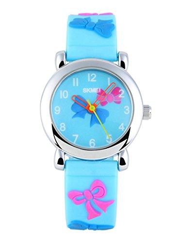 SKMEI Children's SK1047C 3D Creative Novelty Cute Japan Quartz Waterproof Wrist Watch Blue