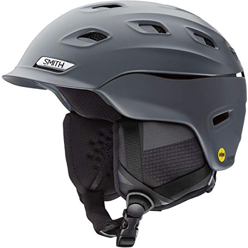Helmet Matte Charcoal - Smith Optics Vantage Adult Ski Snowmobile Helmet - Matte Charcoal/Medium