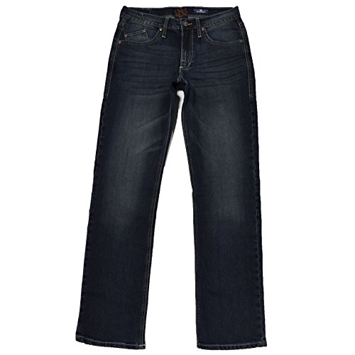 Regular Fit Straight Jeans (32x30, Dirty Deeds) (Rock Republic Men Jeans)