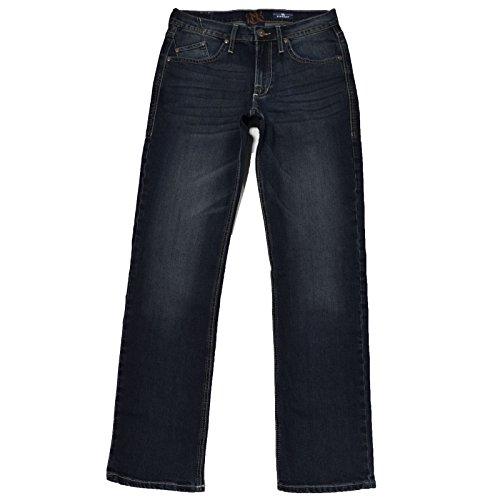 Rock & Republic Mens Regular Fit Straight Jeans (32x30, Dirty Deeds)