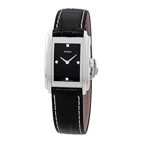 Rado Integral Diamond Black Dial Ladies Watch R20213715