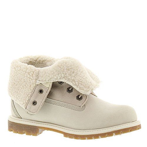 Timberland Teddy Fleece Women's Boot 8.5 B(M) US Winter (White Laced Boots)