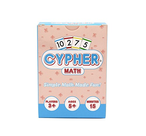 Cypher: Innovative Math Learning Card (Math Games For 5th Grade)