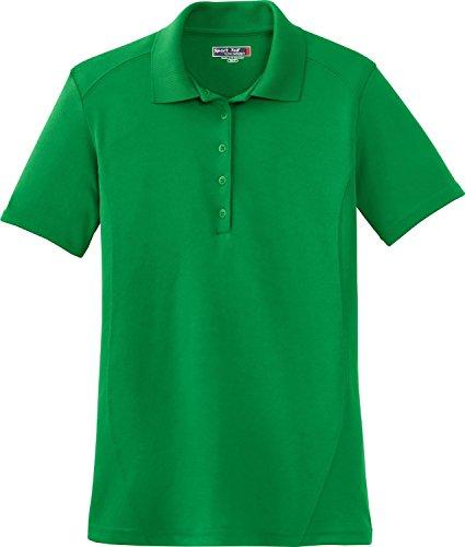 Sport-Tek Sport-Tek, Ladies Dry Zone; Raglan Accent T-Shirt, Kelly Green, M