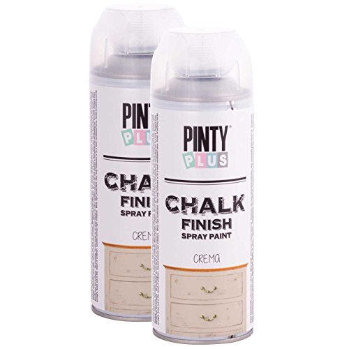 Chalk Finish Spray Paint, Cream