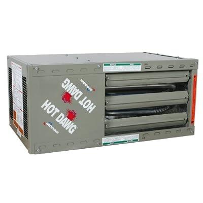 Modine HD125AS0121 Unit Heater, 125000 BTU, LP 80%