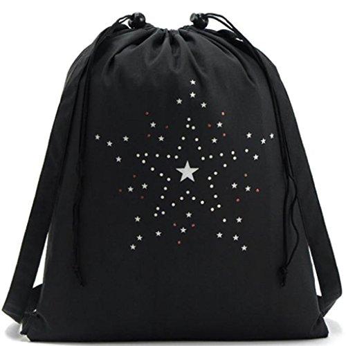 Hobo Costume Diy (Laimeng,New Arrival Drawstring Sports Shoe Dance Bag Schoolbag Storage Backpack)