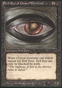 Magic: the Gathering - Evil Eye of Orms-By-Gore - Legends