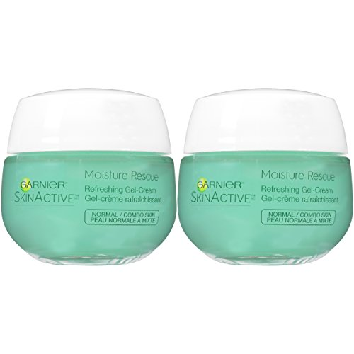 Garnier SkinActive Moisture Rescue Face Moisturizer, Normal/Combo, 1.7 Ounce (Pack of 2) (Best Makeup For Wrinkled Skin)