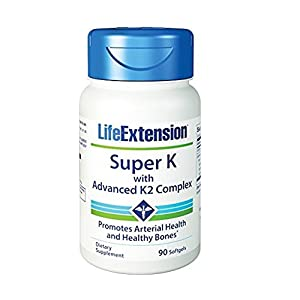 Life Extension Super K with Advanced K2 Complex 90 softgels…