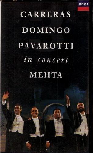Carreras Domingo Pavarotti in Concert MEHTA (VHS - - Carreras London