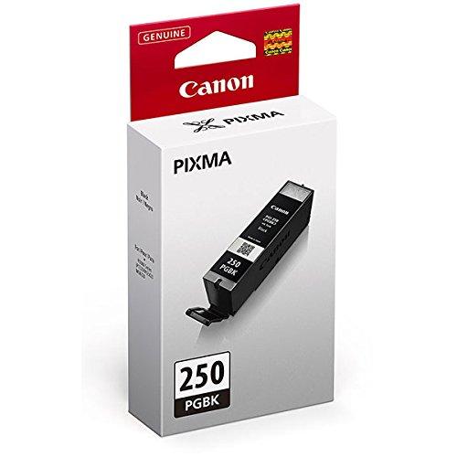 2 X Canon (PGI-250) Black Inks in Retail Packaging (Printer Ink Canon Mx722)