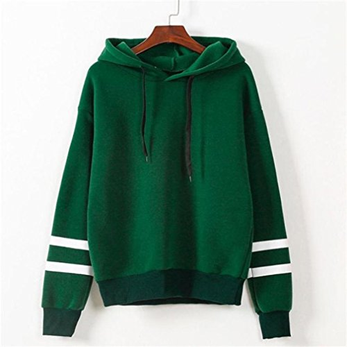 Hot Zulmaliu Girl Sweatshirt, Hoodie Sweatshirt Hooded Stripe Pullover supplier