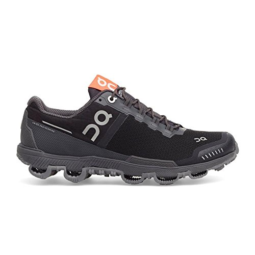 - On Running Womens Cloudventure Shield Black/Dark Trail Runner - 8