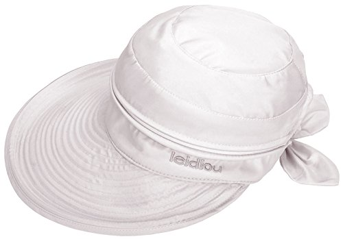 Hats And Golf Visors (Simplicity Women's UPF 50+ UV Sun Protective Convertible Beach Hat Visor White)