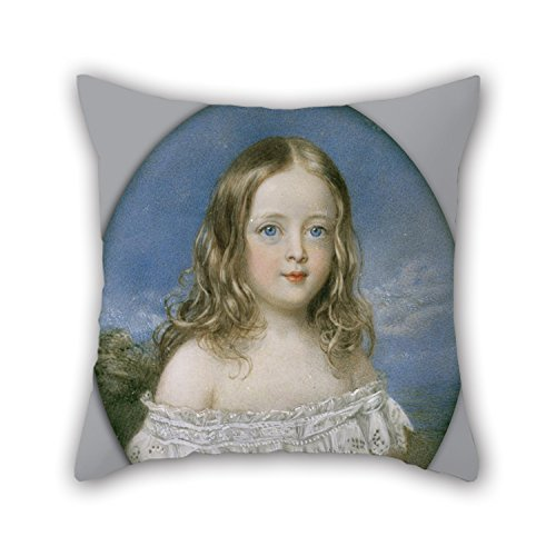 Loveloveu 20 X 20 Inches / 50 By 50 Cm Oil Painting Sir William Charles Ross - Caroline Holland Throw Pillow Covers,twice Sides Is Fit For Dance Room,living Room,drawing (Holland Costume City)