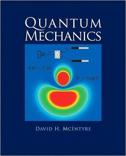 mcintyre quantum mechanics solution manual
