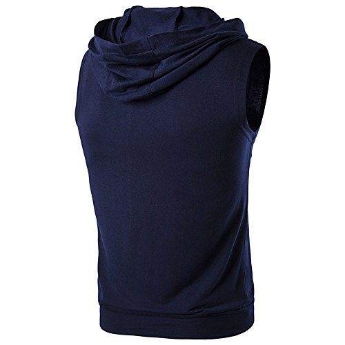 Men's Classic Basic Solid Ultra Soft Cotton T-Shirt | 1-2-4 Pack Navy by Donci T Shirt (Image #1)