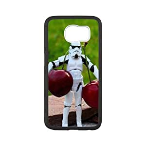 Samsung Galaxy S6 Cell Phone Case Black stormtroopers toys SLI_683320