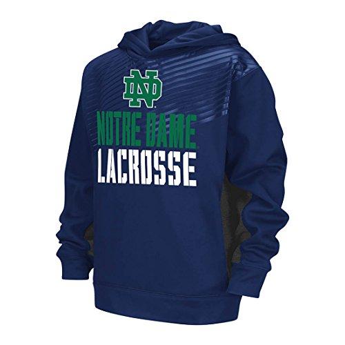 Notre Dame Lacrosse Hoodie - Youth-XLarge