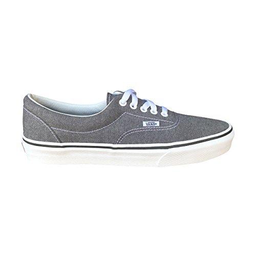 effa0bbeffb Galleon - Vans Unisex Era Canvas Skate Shoes (Micro Herringbone BLK ...