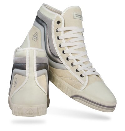 a7ac49436685 Puma Rudolf Dassler Wellengang Mid Womens Trainers   Shoes - Off White -  SIZE UK 3  Amazon.co.uk  Shoes   Bags
