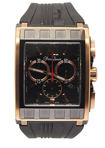 Pierre Laurent Mens Rectangular Chrono Watch, 63217B