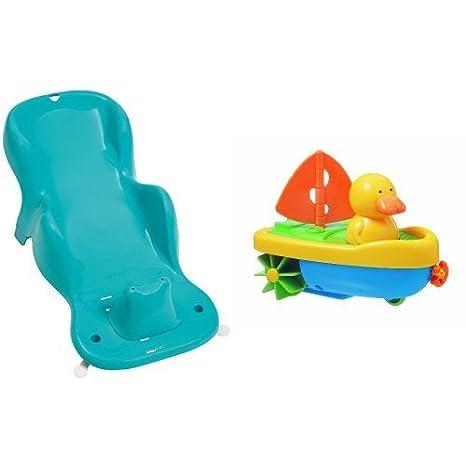 Tigex Anatomy - Sillón de baño evolutivo, color azul - Tigex - Capitán Pato, juguete de baño (80800295)