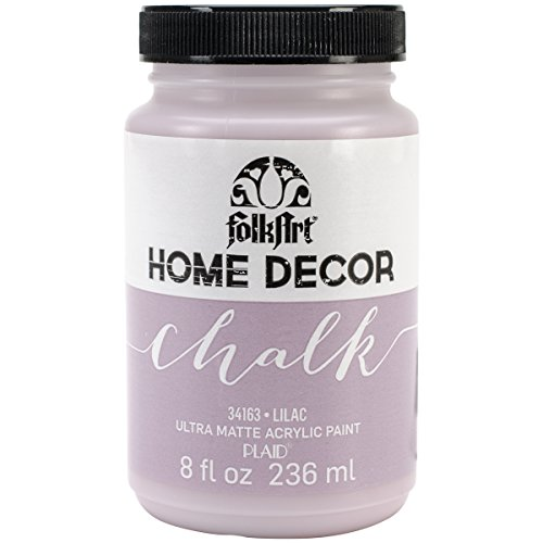 (FolkArt 34163 Home Decor Chalk Furniture & Craft Paint in Assorted Colors, 8 Ounce,)