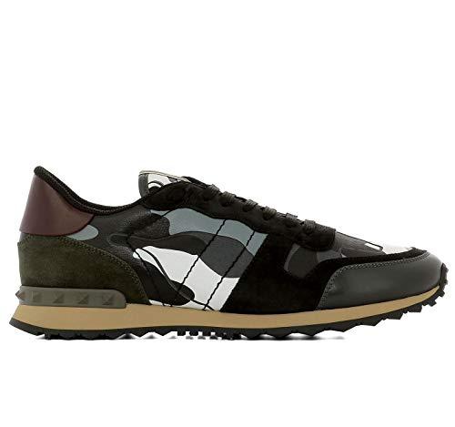 Scarpe AQ7 QY2S0723TCC GARAVANI ROCKRUNNER Uomo VALENTINO Grigio Nero Sneakers gqp6xw1