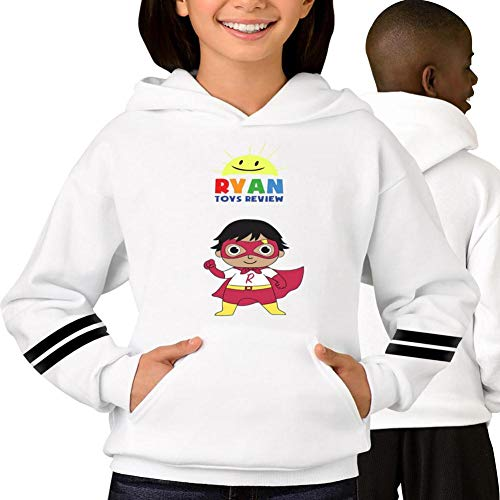 Ryan's Toys World Youth Hoodies Sweatshirt Unisex Sweater Pullover for Boys and Girls -