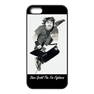 iPhone 5 5s Cell Phone Case Black Dave Grohl Foo Fighters HLG Clear Cell Phone Case Custom
