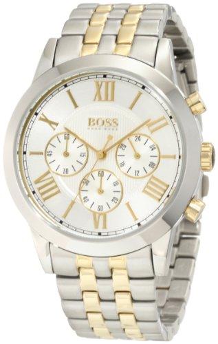 Hugo Boss Men's 1512730 HB2022 Two toned bracelet Watch