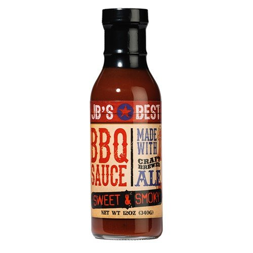 JB's Best All Natural Beer-Infused BBQ Sauce - Sweet and Smo