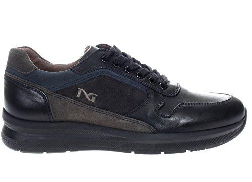 Nero Giardini Uomo Sneaker A705250U-100 Sneaker Caracas Nero Nero/Blu Estilo De La Manera Del Descuento Caliente De Suministro De Salida 2018 Venta Online oBgl2jJH4