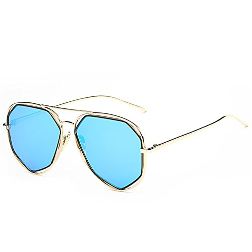A-Roval Women Polarized Round Large Fashion Metal Colorful - Sunglasses How To Polarized Fix