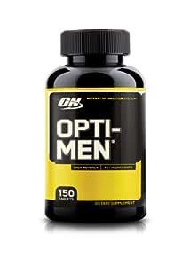 Optimum Nutrition Opti-Men Daily Multivitamin Supplement, 150 Count