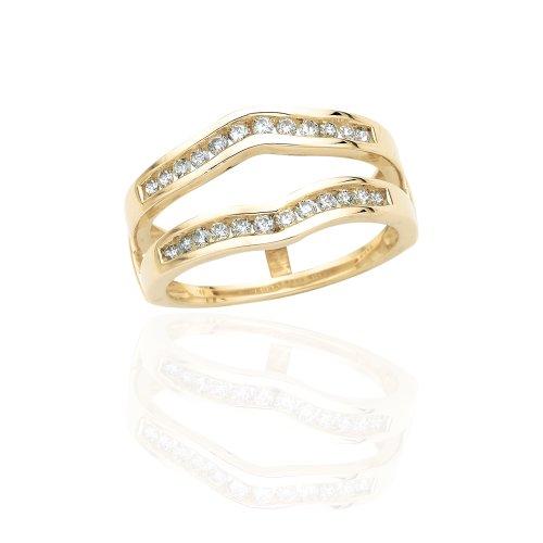 KATARINA Diamond Ring Guard in