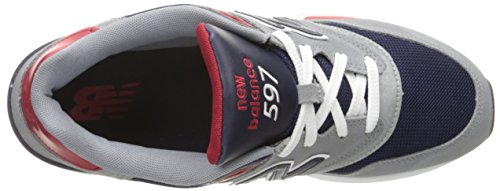 Running Black Scarpe Uomo Balance Red Grey Aab 597 Grigio Blue New qfB4xOf