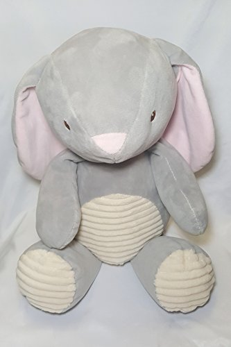 20 in. Plush Rattle (Bunny Grey)