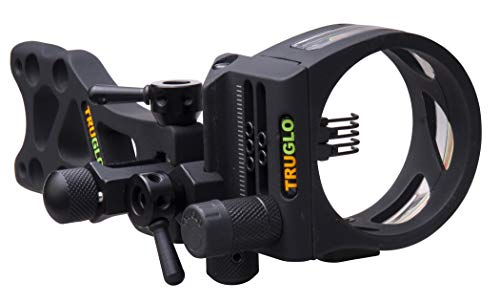 TRUGLO TSX Pro Series Bow Sight, 5-Pin, Micro-Adjustable