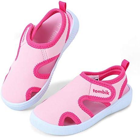tombik Toddler Cute Aquatic Water Shoes Boys//Girls Beach Sandals