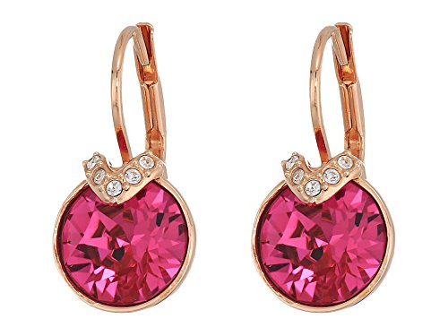 1a4ff7816 Swarovski Bella Bella V Pierced Fuchsia Earrings for sale Delivered  anywhere in USA