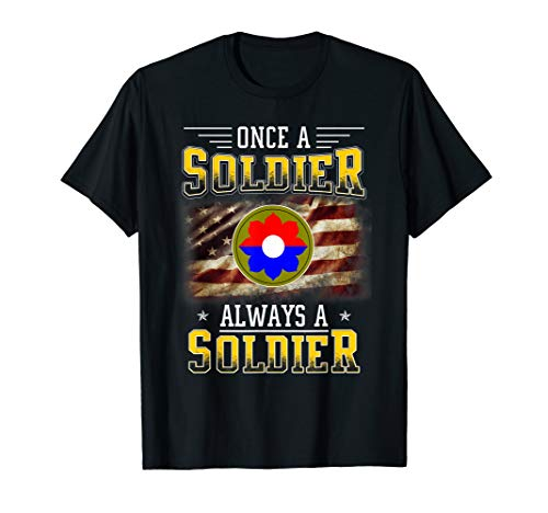 9th Infantry Division Veteran T-Shirt Always a Soldier ()