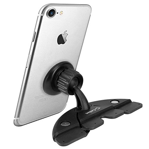 (Quick Snap Super Strong Magnetic CD Slot Phone Holder in your Car or Truck fits BLU Studio 5.5 D610)