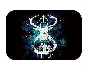 """Mysterious deer Flannel Doormat non-slip mat 60x40cm / 24""""x16"""""""